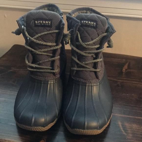 Sperry Saltwater Duck Boots | Poshmark